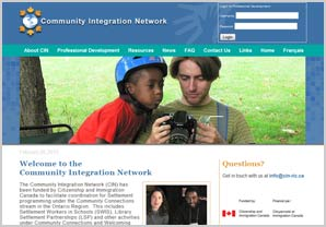 Community Integration Network website