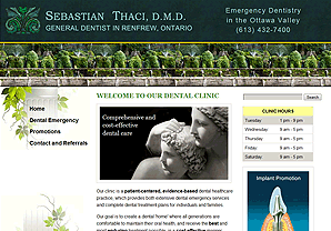 Sebastian Thaci website