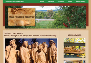 The Valley Carver website